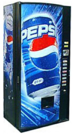 Pepsi Soda Machine - Refurbished