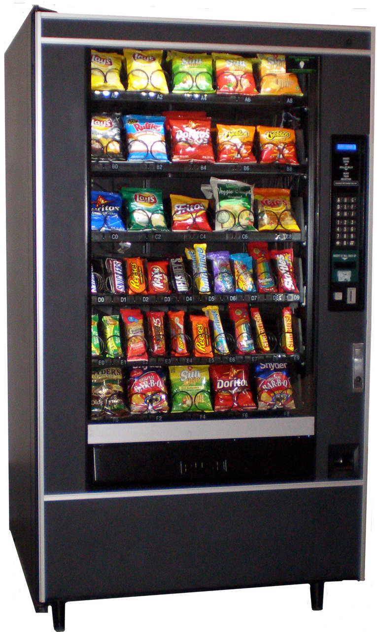 National 167 Snack Machine - Refurbished