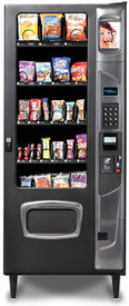 The MP 23 Black Diamond Snack Machine comes equipped with 5 flex trays with adjustable height and spacing, giving you the most freedom possible in customizing your product selection