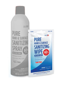 Hand & Surface Sanitizer Wipes