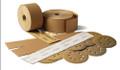 "Gold  -  2-3/4"" X 16-1/2"" Velcro File Sheet #100"