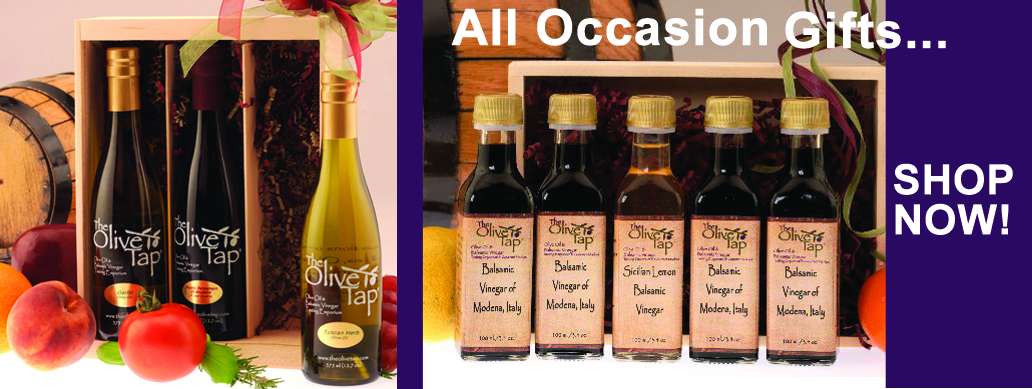 Extra Virgin and Flavored Olive Oils, Aged Balsamic Vinegars