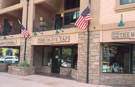 Manitou Springs, CO The Olive Tap Storefront