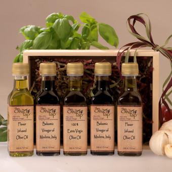 The Olive Tap Sampler