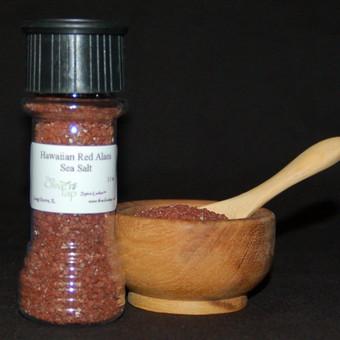 Hawaiian Red Sea Salt In Jar