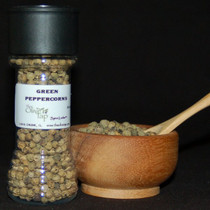 Green Peppercorns In Jar