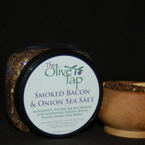 Smoked Bacon and Onion Sea Salt In Jar