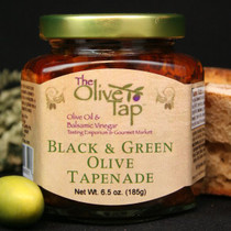 Black and Green Olive Tapenade