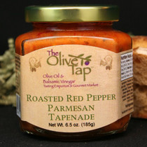 Roasted Red Pepper Parmesan Tapenade