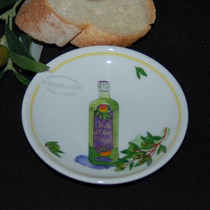 Olive Bottle Tidbit Dish