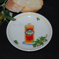 Olive Oil Tin Tidbit Dish