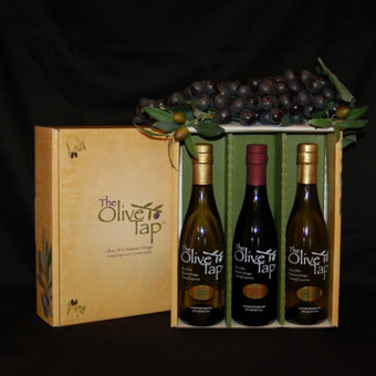 The Olive Tap Trio Gift Box