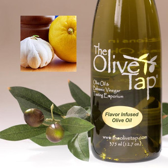 Lemon and Garlic Olive Oil