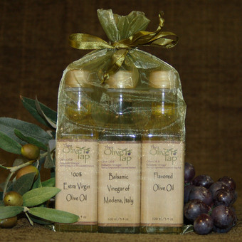 Tap's Trio Oil and Vinegar Sampler Sets