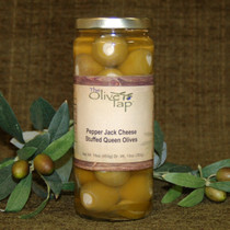 Pepper Jack Cheese Stuffed Queen Olives