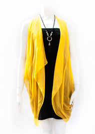 Paris in Yellow Silk