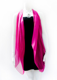 Paris in Magenta Silk