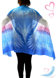 Blue Angel Wings