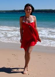 Diva Drape styled as a dress