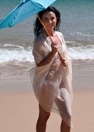 Diva Drape styled as a kaftan