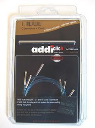"Addi Click Booster Pack Xtra Long Set (cords) 47"", 60"" with connector"
