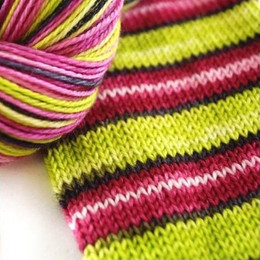 Biscotte Yarns Bis-Sock Self-Striping (30st)