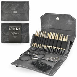 Lykke Driftwood Interchangeable Needle Set, Grey Case