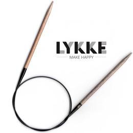 "Lykke Driftwood 32""(80cm) Circs 6.00mm/US10"