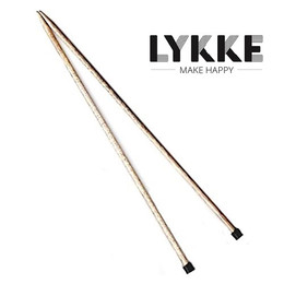 "Lykke Driftwood 14"" Straights 3.25mm/US3"