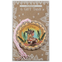 PAPAYA! Holiday Gift Tag 6-Pack