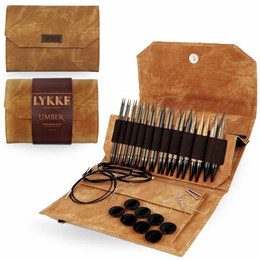 Lykke Umber Interchangeable Needle Set