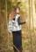 Abbots wrap vest in Alpaca Classic