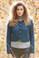 Juliaca cropped cardigan in Alpaca Classic