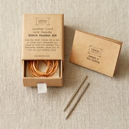 Cocoknits Leather Stitch Holder Kit