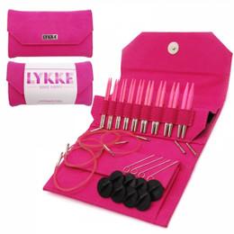 Lykke Blush Short-Tip Interchangeable Needle Set