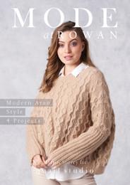 Rowan Modern Aran Style: 4 Projects