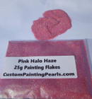 Pink Halo Haze Flake .008""