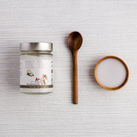 Certified Organic Raw Coconut Oil (for people) - 250g / 8.85oz