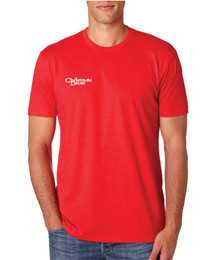 Next Level CVC T-shirt (Heather Red)