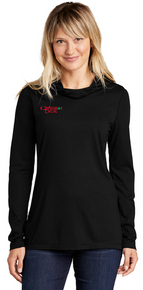 NEW - Sport-Tek ® Ladies PosiCharge ® Tri-Blend Wicking Long Sleeve Hoodie
