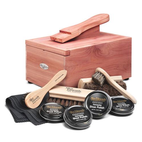 Woodlore Professional-Style Cedar Shoe Valet with Starter Kit II