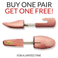 BOGO Women's Combination Cedar Shoe Tree (2 Pairs)