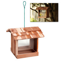 Cedar Bird Feeder (no planter boxes)