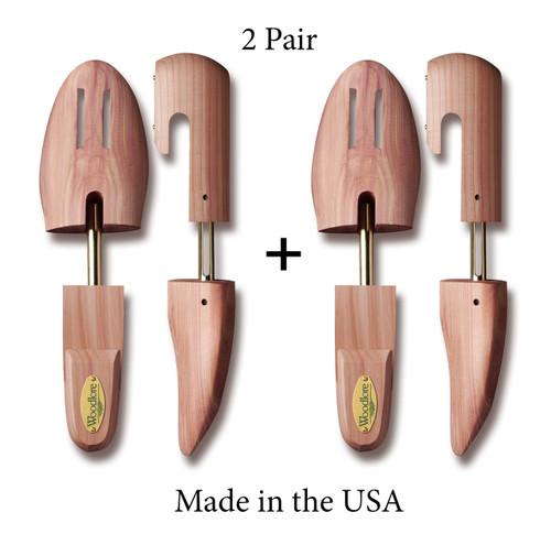 Men's Full Shoe Trees, 2-pack