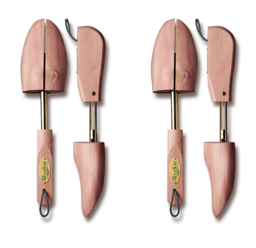 Men's Adjustable Shoe Trees, 2-pack