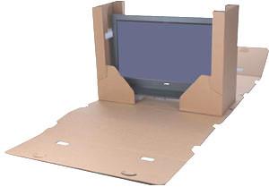 Flat Screen Tv Moving Kit Giraffe Packaging