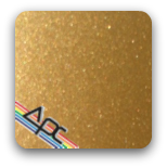 APC- Gold Metallic T7-GD1