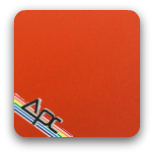 APC- Safety Orange T8-OR1 Powder Coating