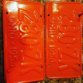 MIT Powder Coatings - Sonny Orange PESO-400-G9  - Photo Submitted by JSC Powder Coating
