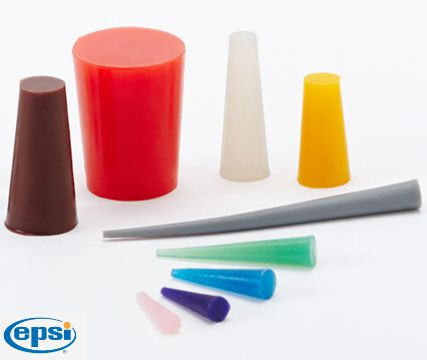 STS Series - Silicone Tapered Stoppers